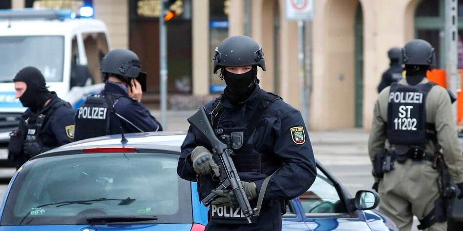 Ilustrační foto Policie Halle