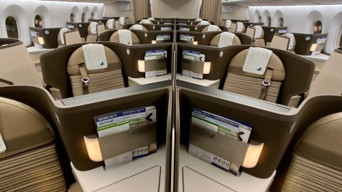 Bussines class Boeing 787-9 Bamboo Airways