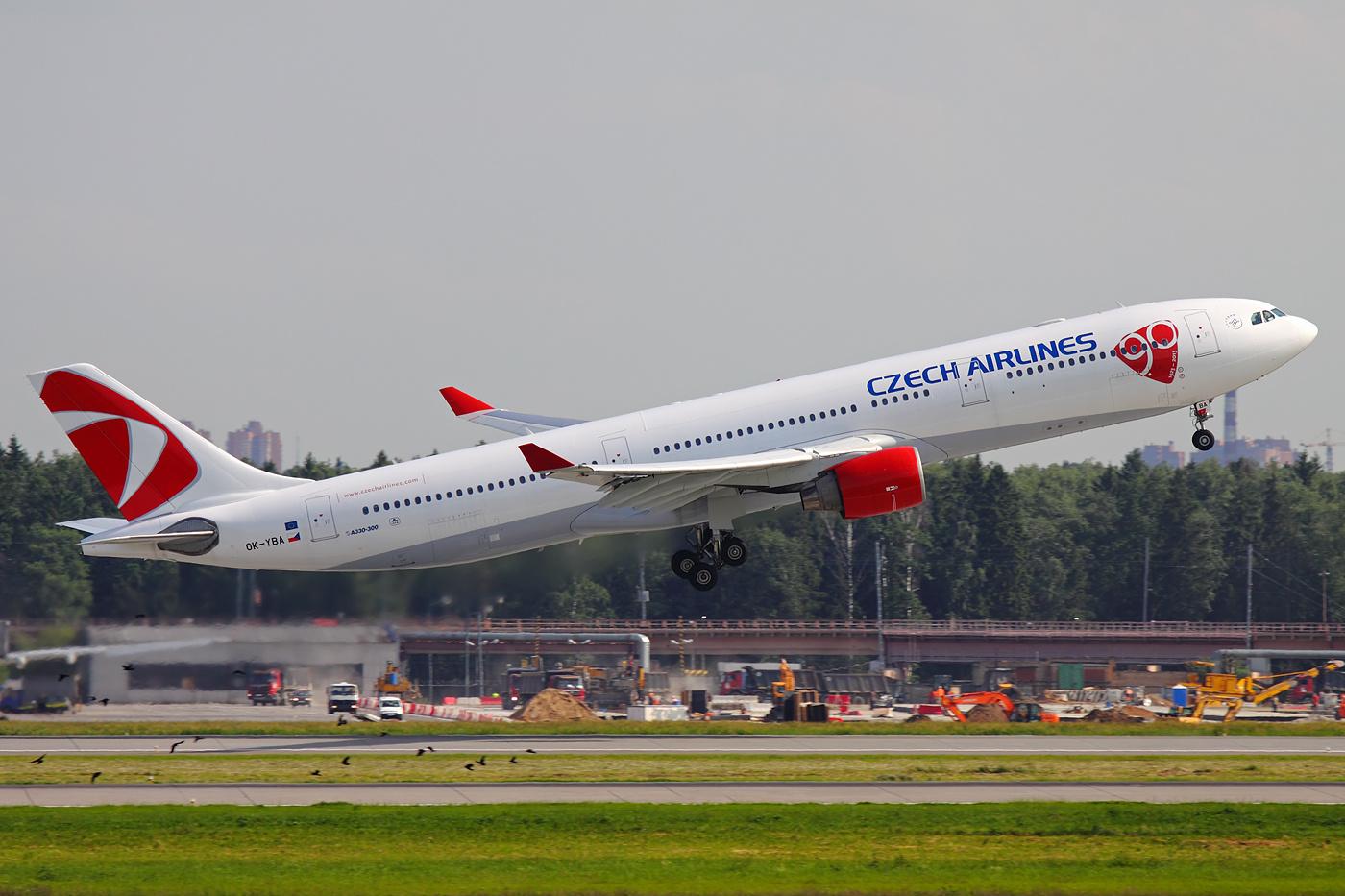 ČSA Airbus A330-323