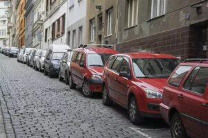Parkování na Praze 10. Foto: Praha 10