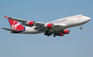 Virgin Atlantic Boeing 747-400