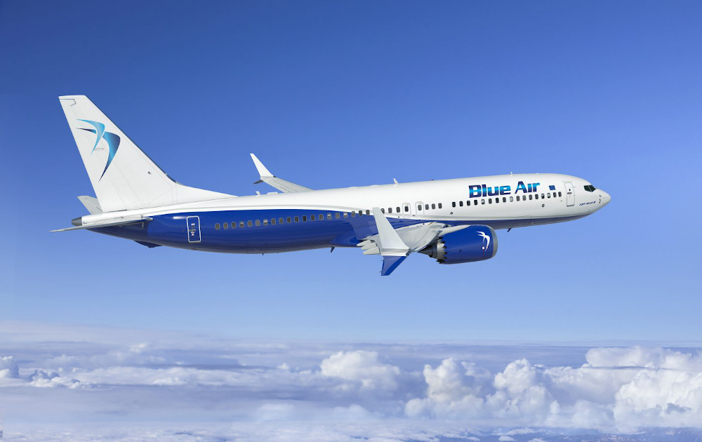 Blue Air Boeing 737 Max 8