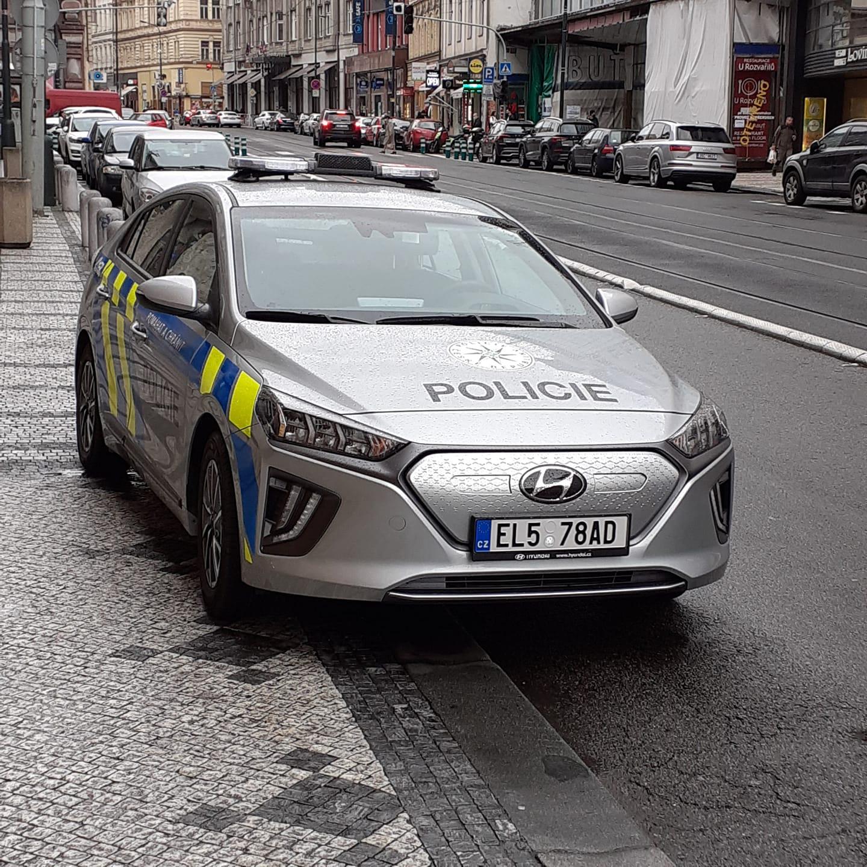 Elektrická Policie ČR, foto: Filip Vítů