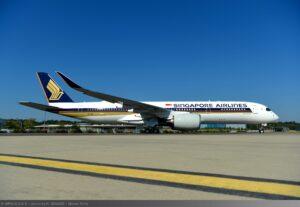 Airbus A350-900 XWB Singapore Airlines