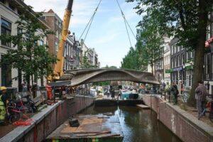 Na projektu mostu začala společnost pracovat před sedmi lety. Foto newscientist.com/ Adriaan De Groot