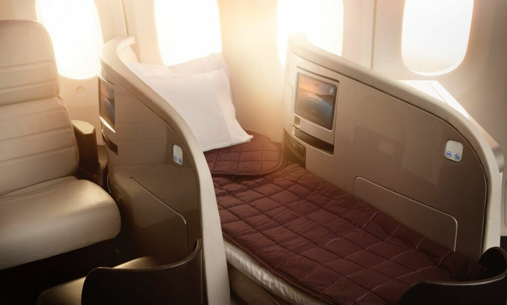 obchodní třída plus společnosti Air New Zeland