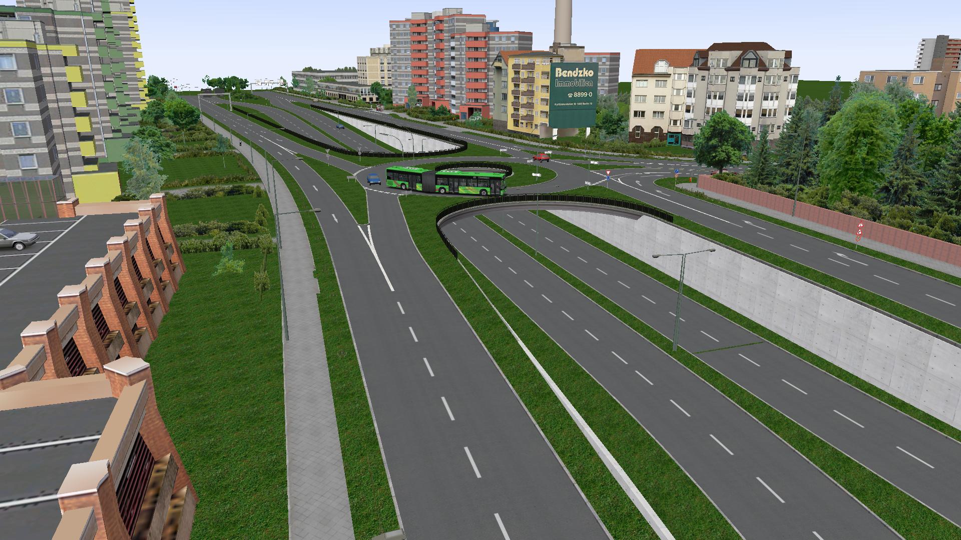 křižovatka u Stadtpark