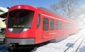 návrh na elektrické soupravy pro trať Pinzgaubahn