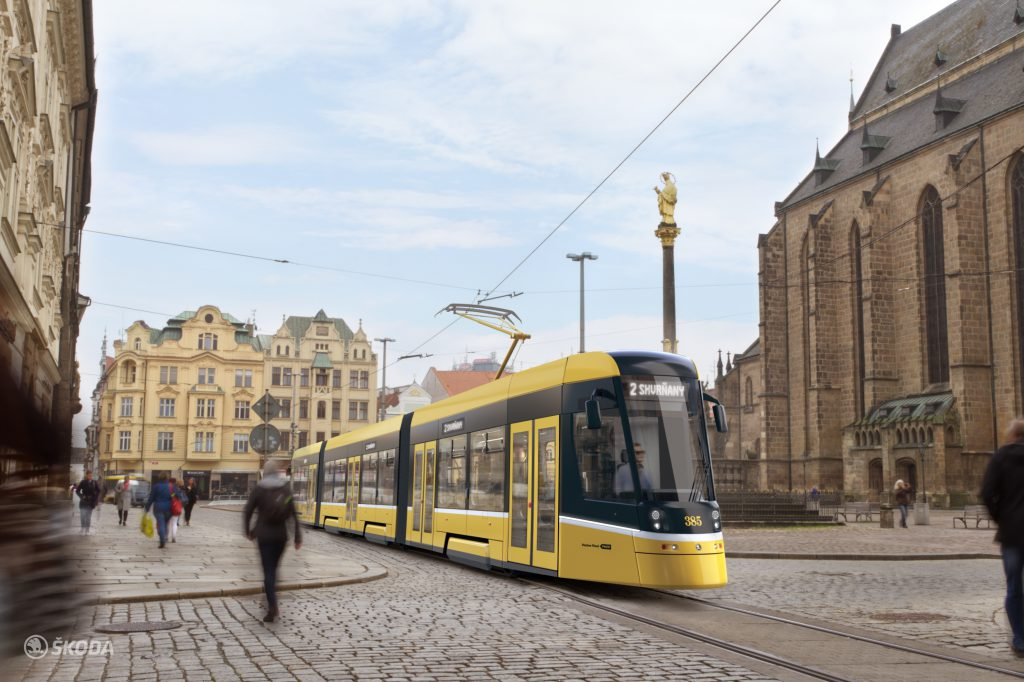 Tramvaj For CIty Smart Plzeň