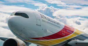detailní pohled na A330-900 NEO